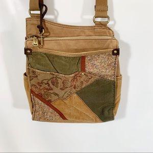 FOSSIL Messenger Bag Crossbody or Shoulder BOHO